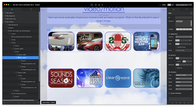 VIDEO SECTION APP SHOT