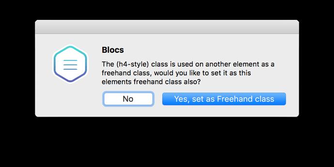 FreehandClassDialog