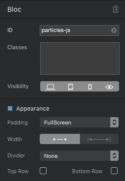 Sidebar-Bloc-ID-Padding