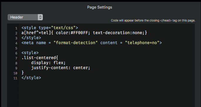 pagesettings