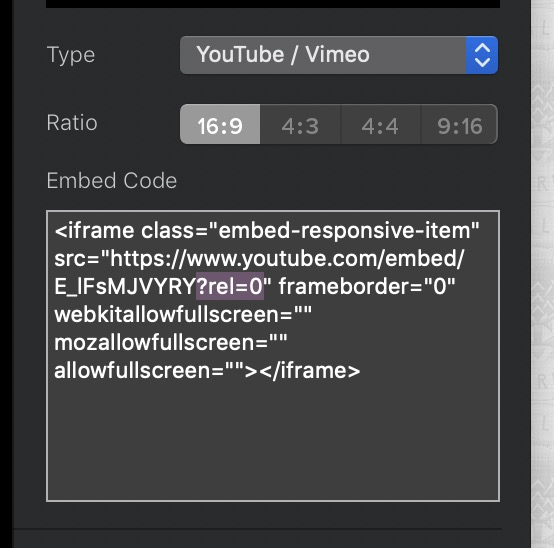 How to turn off youtube's advertising and related video functions