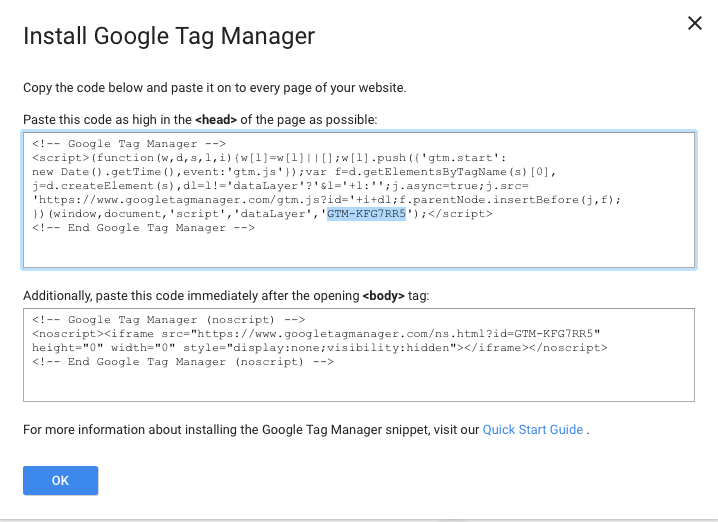 Google Analytics Via Google Tag Manager In Blocs Tips And Tricks