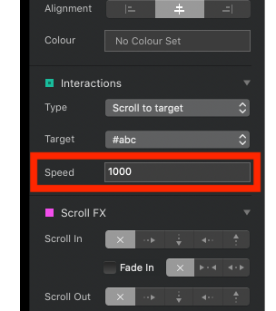 Blocs 3 - smooth scroll to target - I Need Help - Blocs Forum
