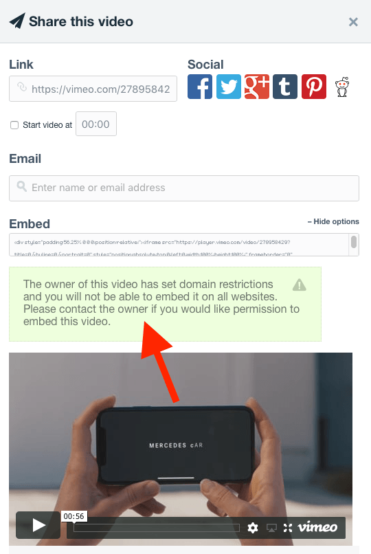 Safari-Vimeo video not displaying - I Need Help - Blocs Forum
