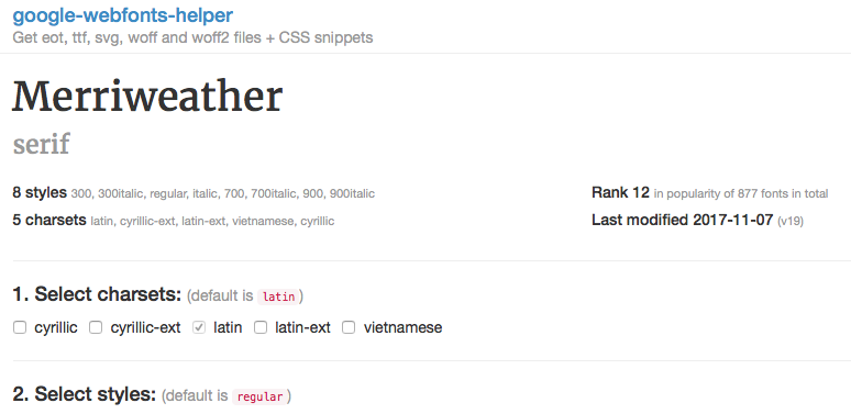 Adding local web fonts in woff2 format makes Blocs crash - I